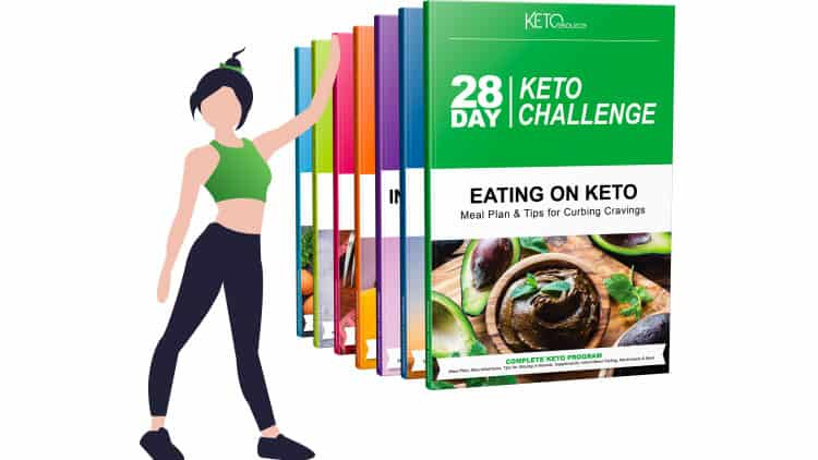 28 Day Keto Challenge program is designed for everyone, whether you are a beginner or have used keto recipes. Everything is clear and easy to follow or understand. It is proven that within 28-day you will see the results.